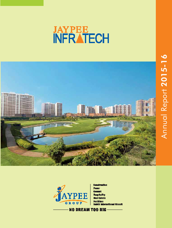 Jaypee Infratech   annual report