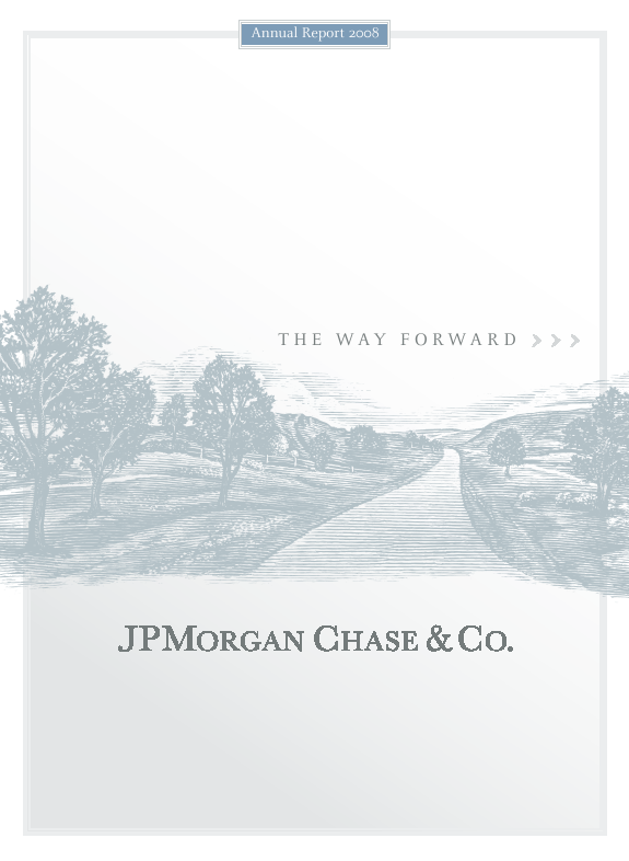 J.P. Morgan Chase   annual report