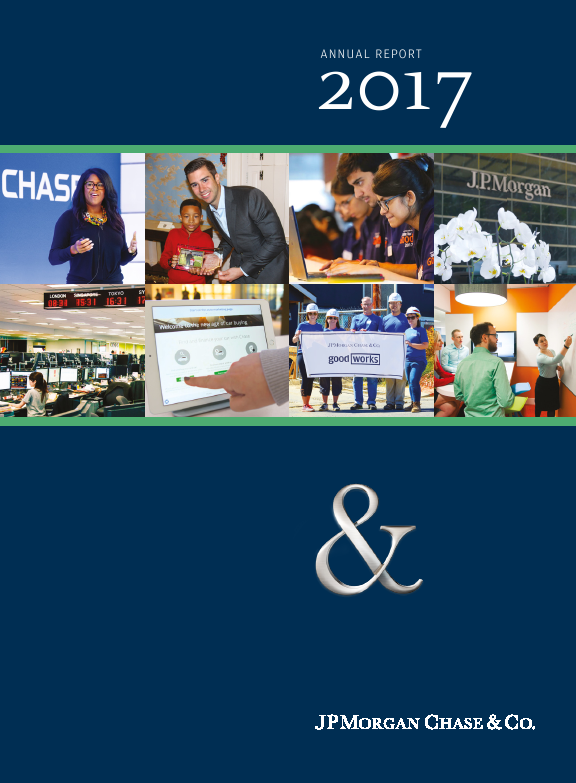 JP Morgan Chase & Co   annual report