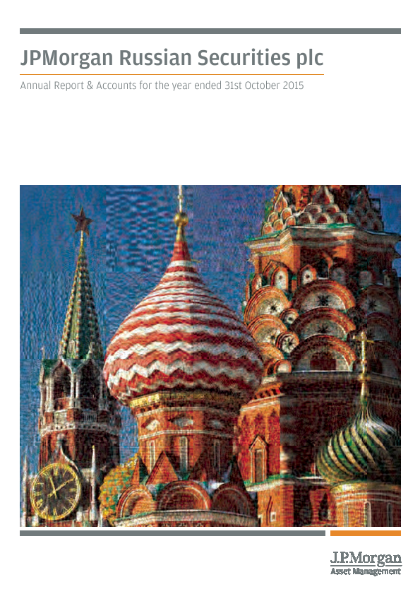 JP Morgan Russian Securities   annual report