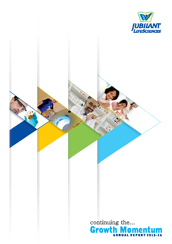 Jubilant Life Sciences   annual report