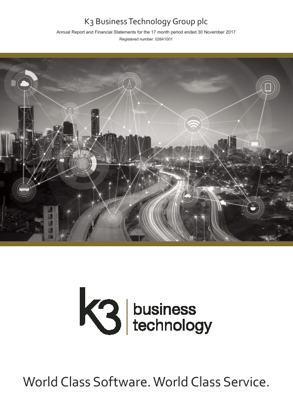 K3 Business Technology Group   annual report