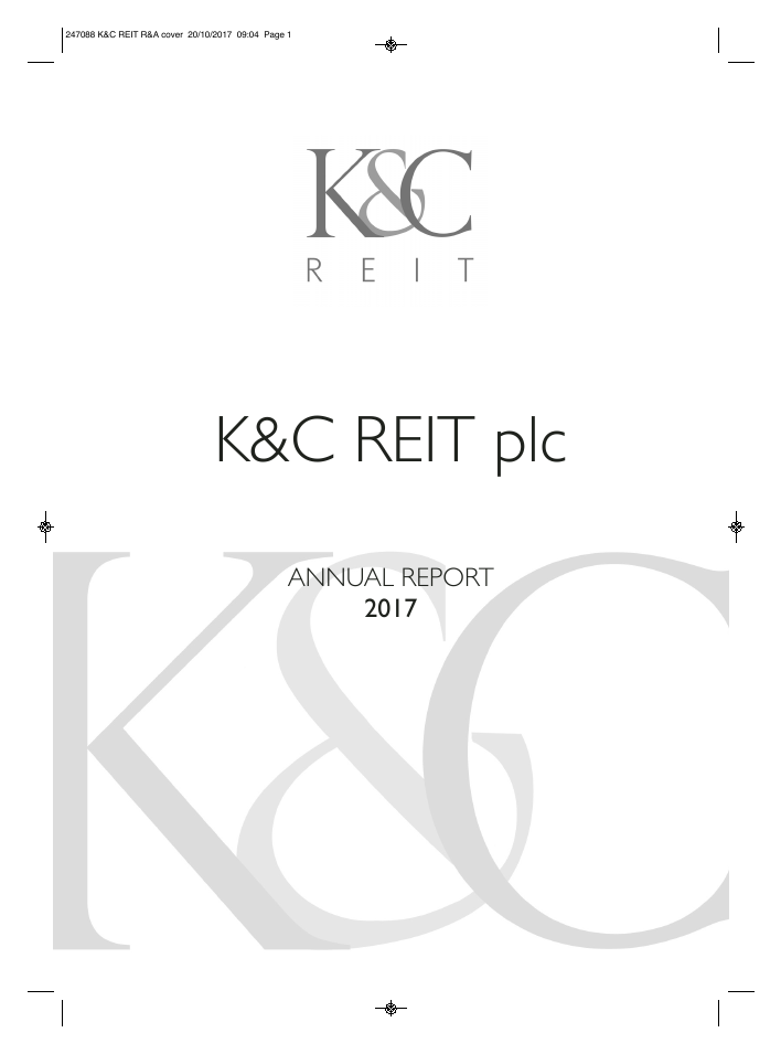 KCR Residential Reit   annual report
