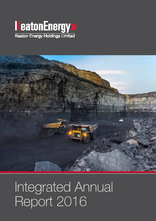 Keaton Energy Holdings   annual report
