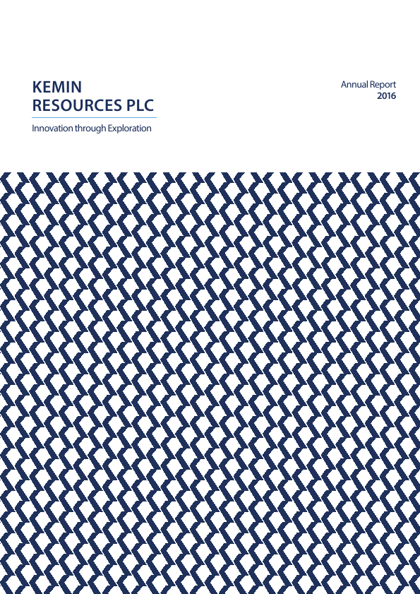 Kemin Resources Plc   annual report