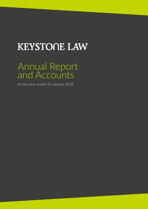 Keystone Law   annual report