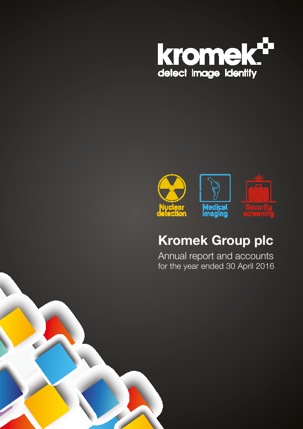 Kromek Group Plc   annual report
