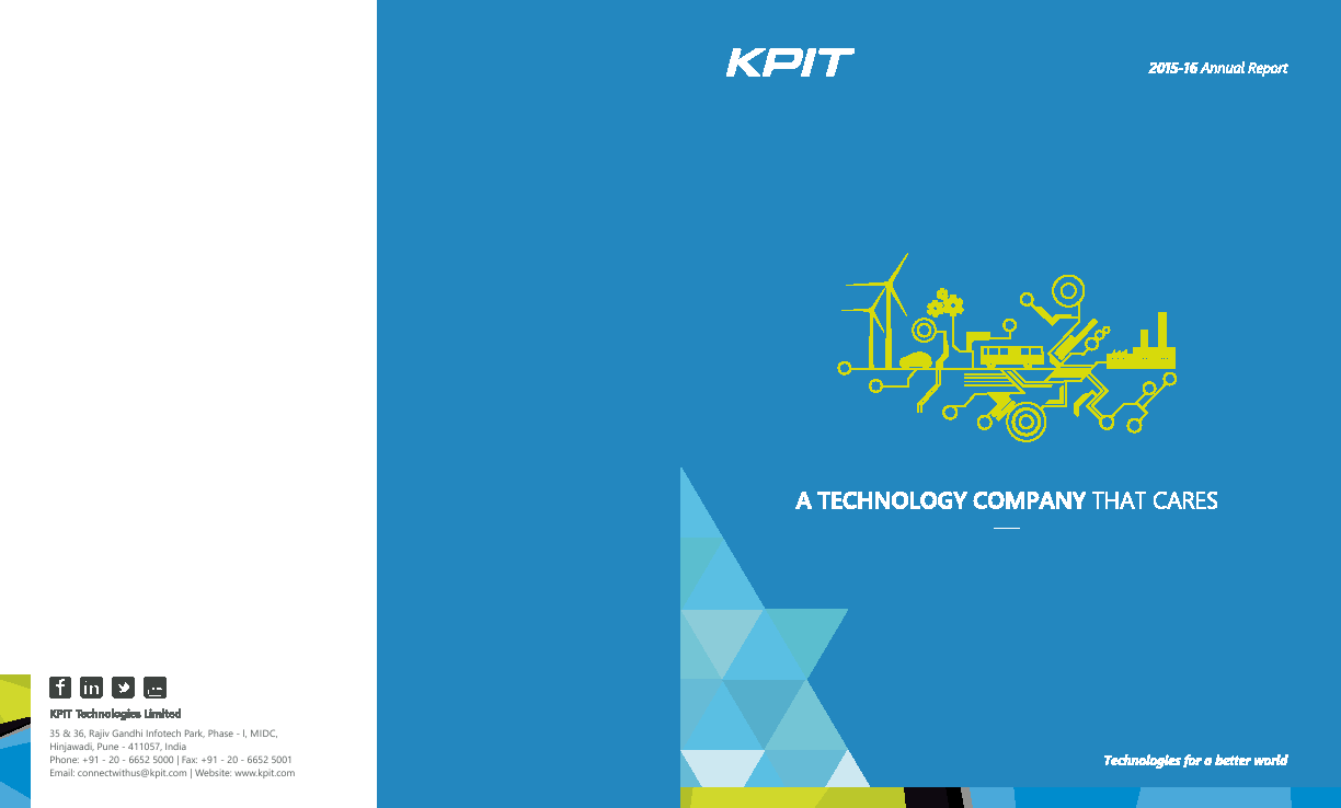 KPIT Technologies   annual report