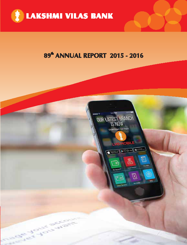 Lakshmi Vilas Bank   annual report