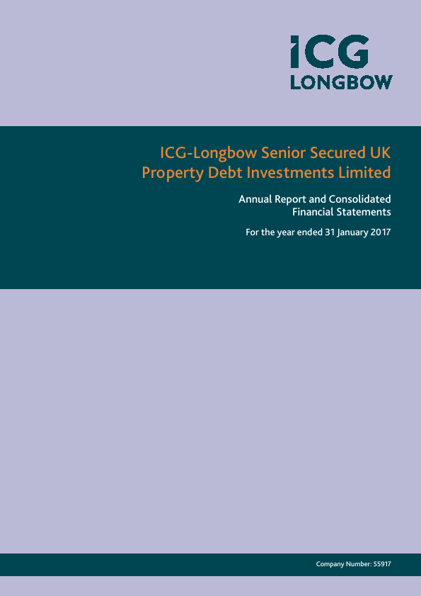 ICG-Longbow Senior Secured UK Property Debt Investments   annual report