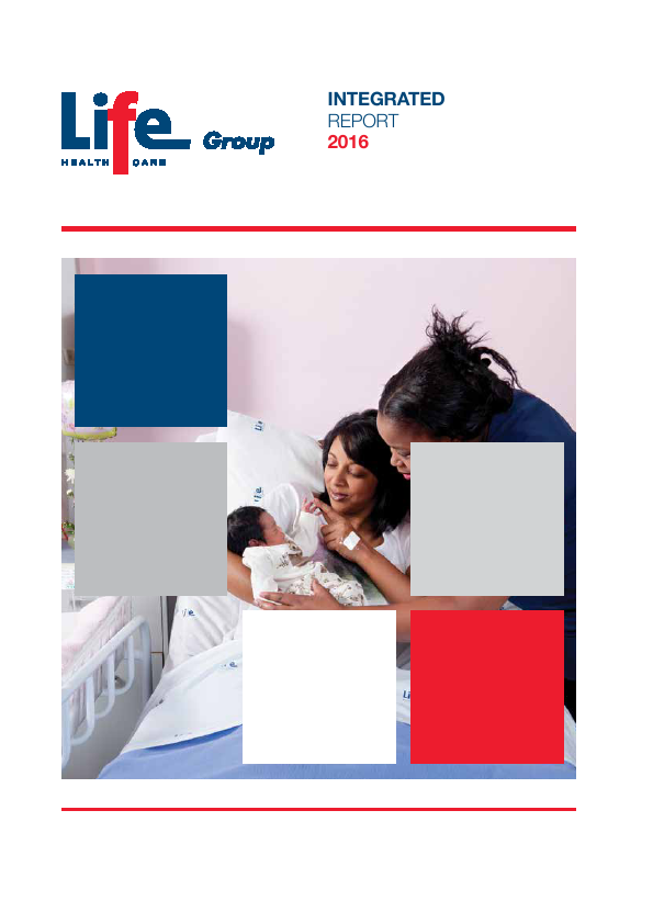 Life Healthcare Group Holdings   annual report
