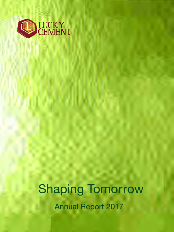 Lucky Cement   annual report