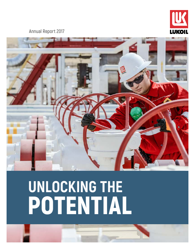 Lukoil PJSC   annual report