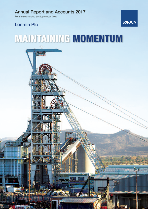 Lonmin   annual report