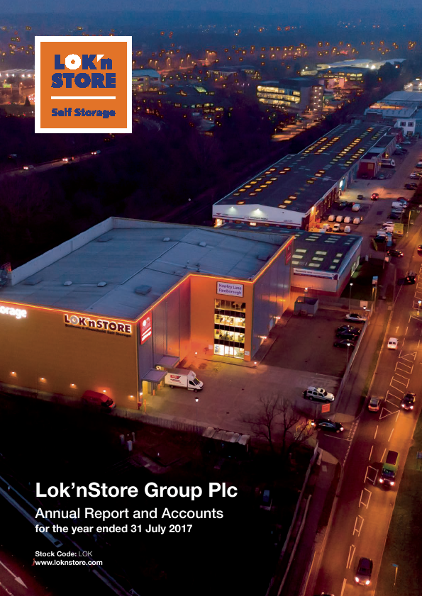 Lok'n Store Group   annual report