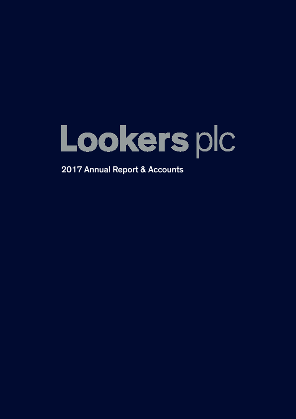 Lookers   annual report