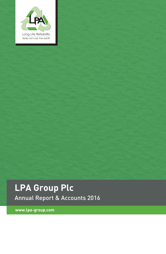 Lpa Group   annual report