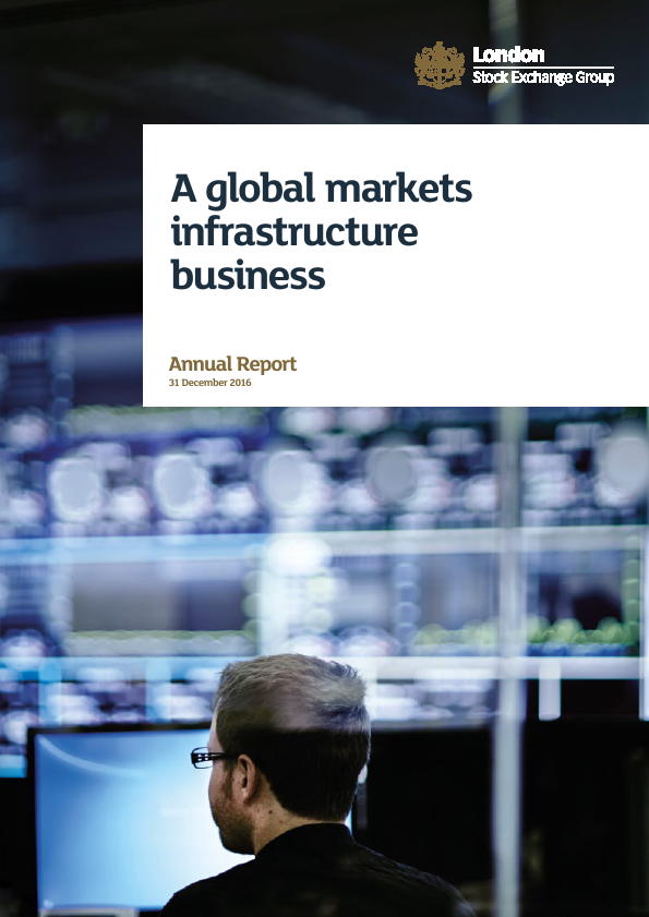 London Stock Exchange Group   annual report