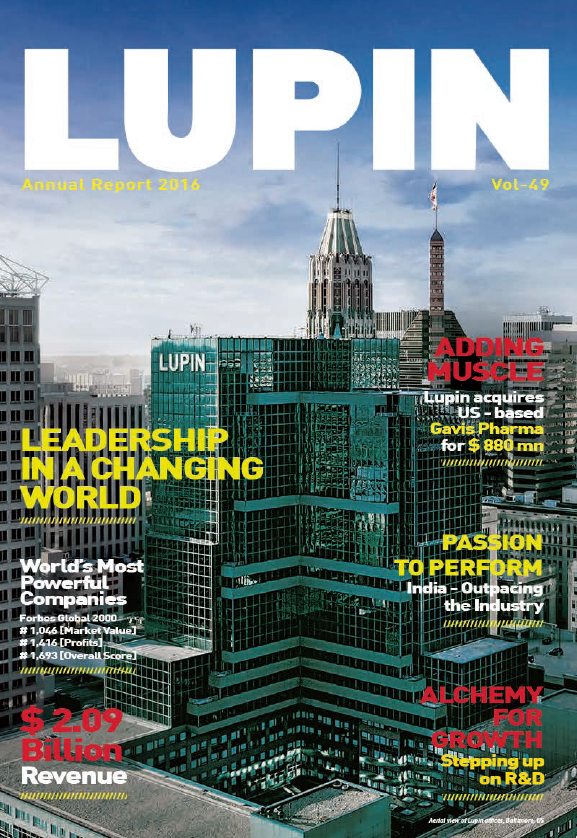 Lupin   annual report