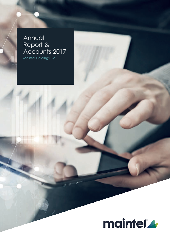 Maintel Holdings   annual report