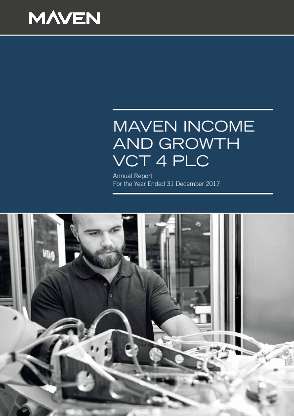 Maven Income & Growth VCT 4 Plc   annual report