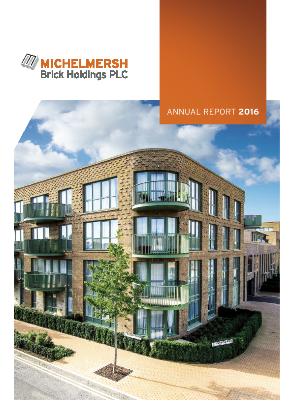 Michelmersh Brick Holdings   annual report
