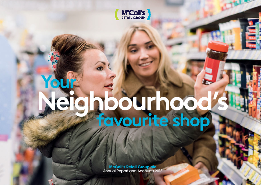 Mccoll's Retail Group Plc   annual report