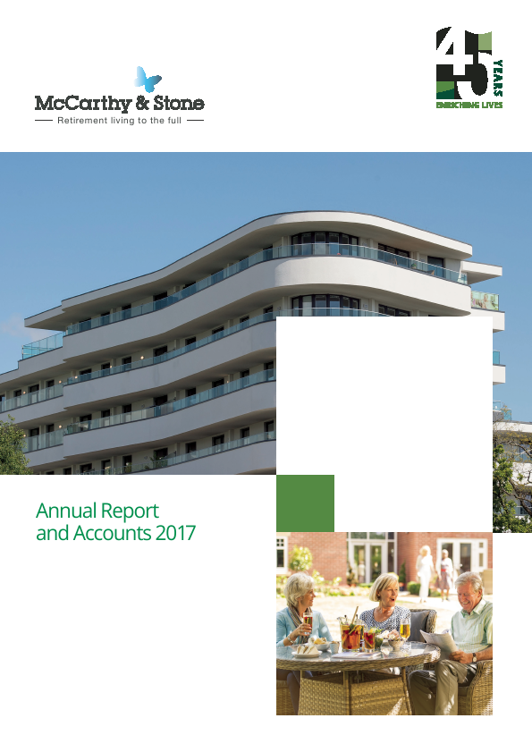McCarthy & Stone   annual report