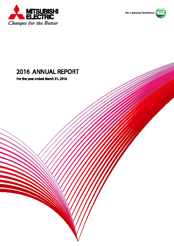 Mitsubishi Electric Corp   annual report