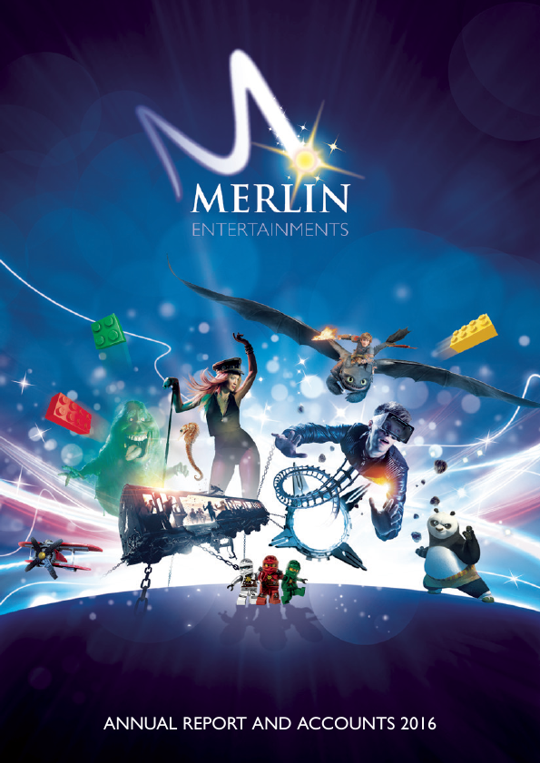 Merlin Entertainments Plc   annual report