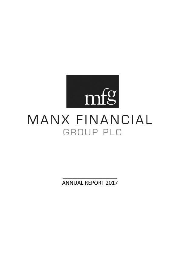 Manx Financial Group Plc   annual report