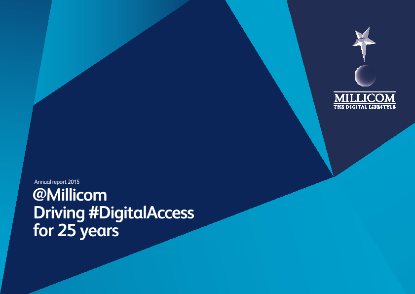 Millicom International Cellular SDB   annual report