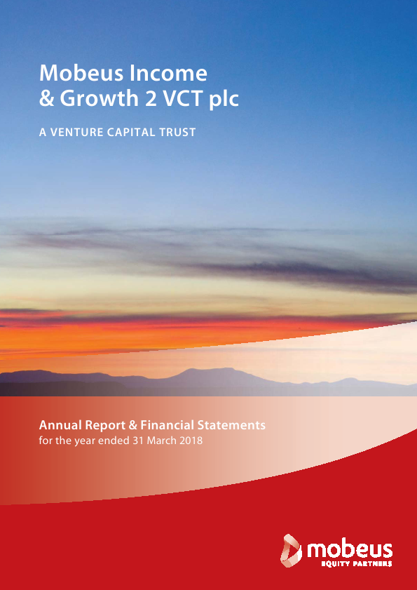 Mobeus Income & Growth 2 VCT Plc   annual report