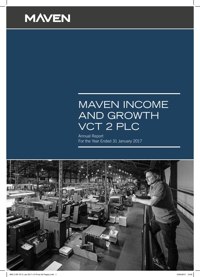 Maven Income & Growth VCT 2 Plc   annual report