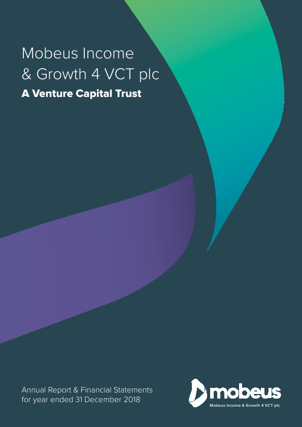 Mobeus Income & Growth 4 VCT Plc   annual report