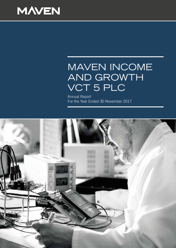 Maven Income & Growth VCT 5 Plc   annual report