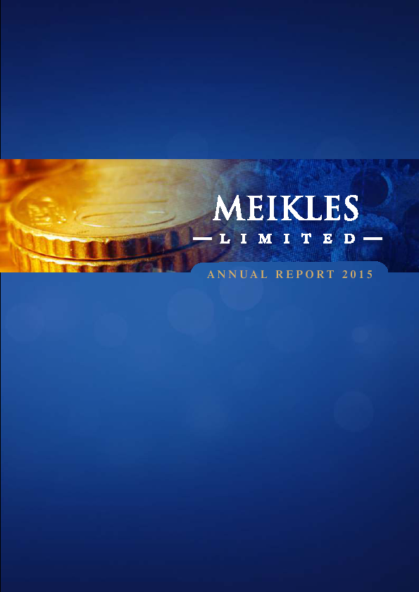 Meikles   annual report