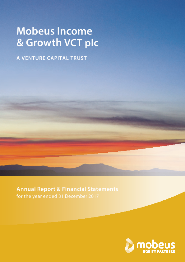 Mobeus Income & Growth VCT Plc   annual report