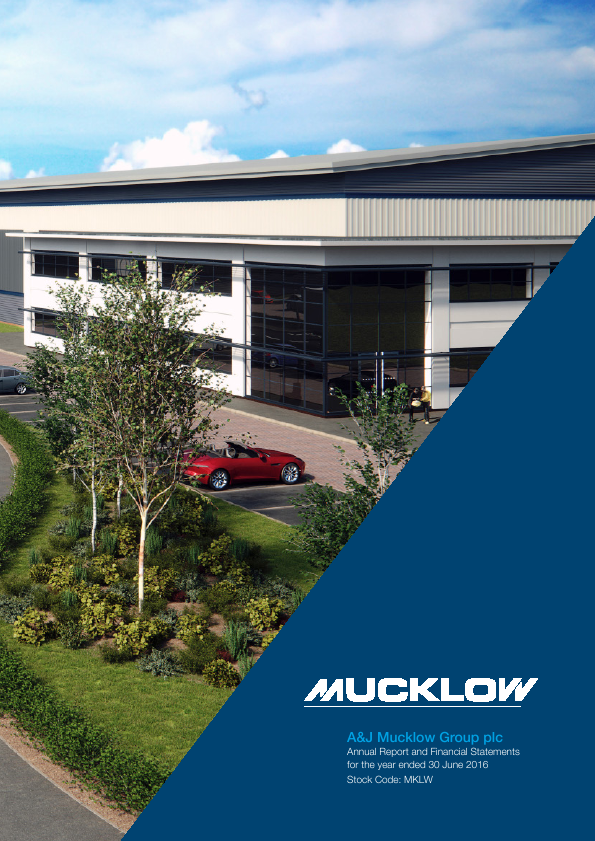 Mucklow(A&J) Group   annual report