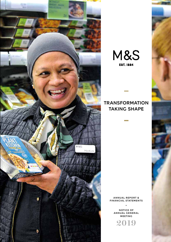 Marks & Spencer Group   annual report