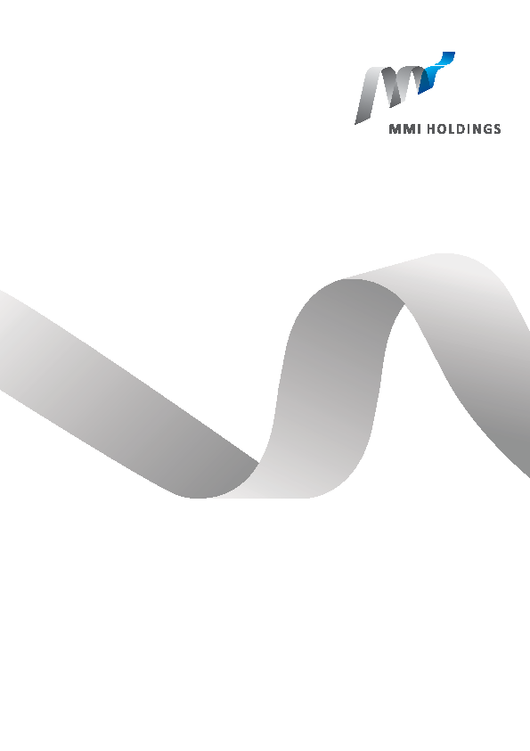 MMI Holdings   annual report