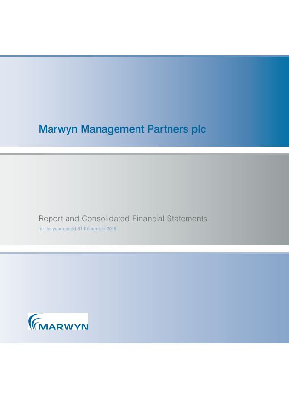 Marwyn Management Partners Plc   annual report