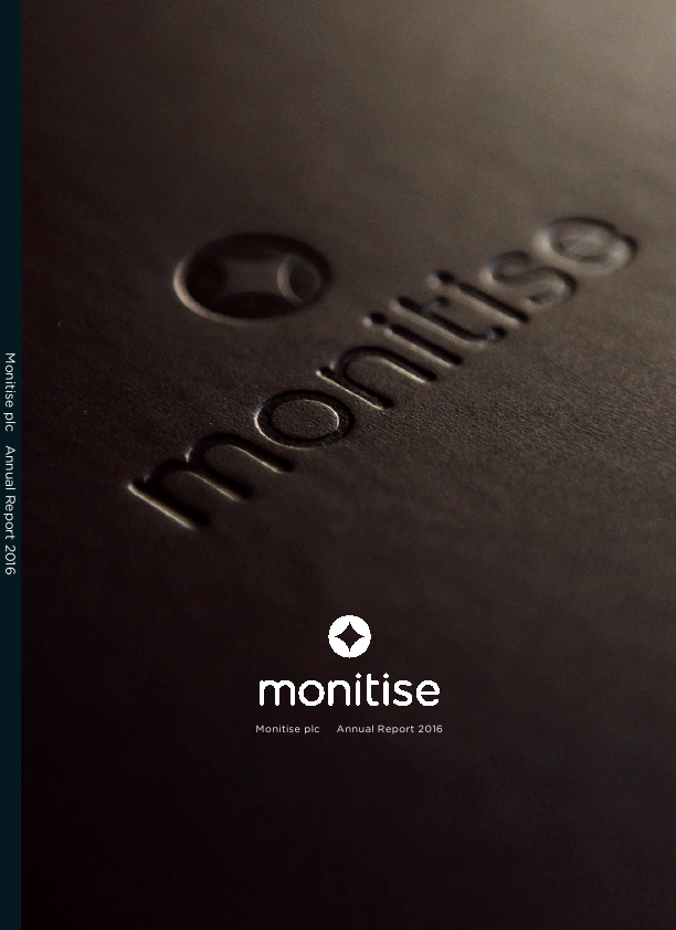 Monitise Plc   annual report
