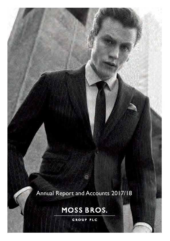 Moss Bros Group   annual report