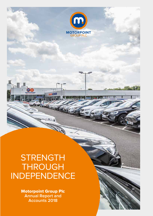 Motorpoint Group   annual report