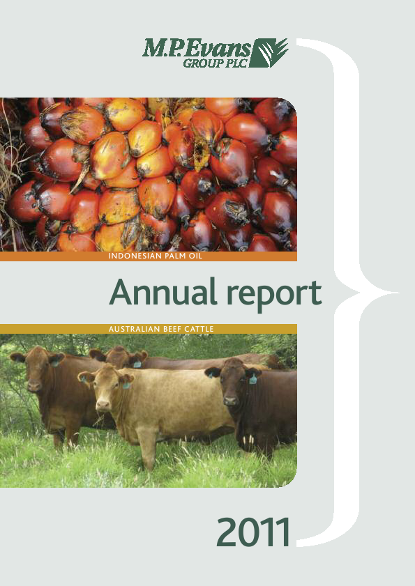 M.P.Evans Group   annual report
