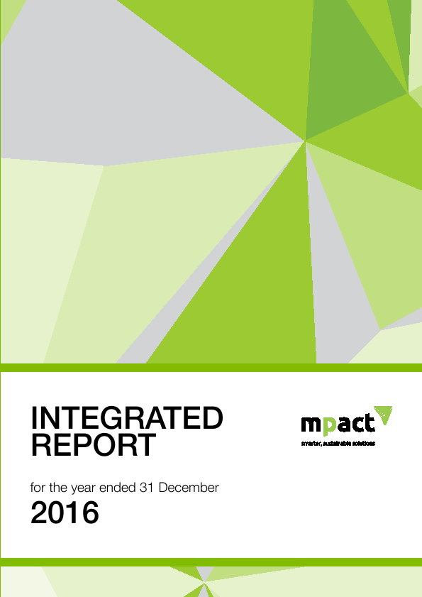 Mpact Limited   annual report