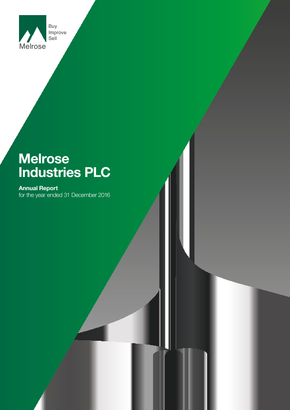 Melrose Industries Plc   annual report