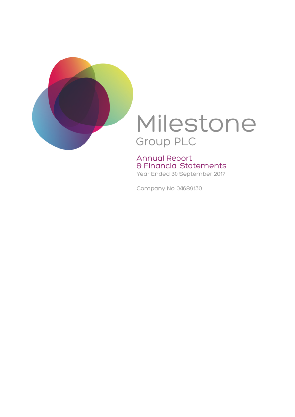 Milestone Group   annual report