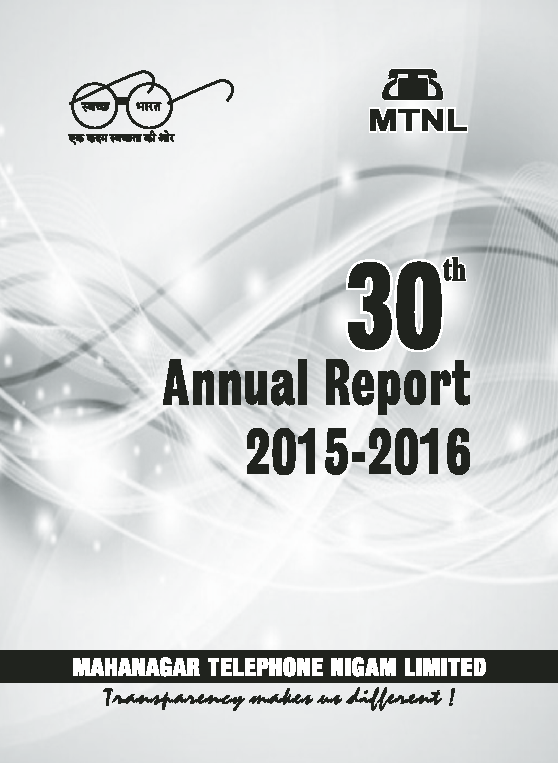 Mahanagar Telephone Nigam   annual report